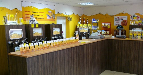 Оборудование и продукция магазина пива