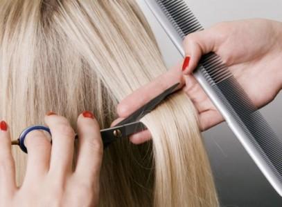 Стрижка парикмахером