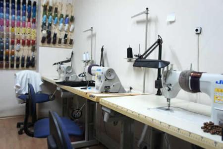 Оборудование и помещение для ателье