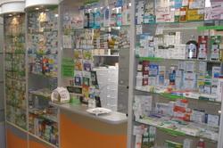 Витрина аптеки
