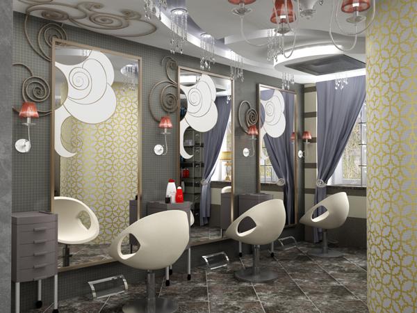 Идея для интерьера салона красоты