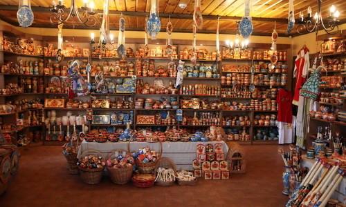 Оформление магазина сувениров