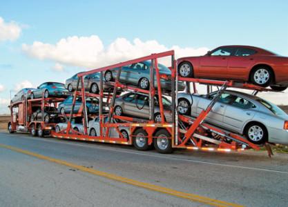 Поставка новых машин с автозавода.