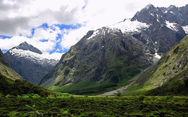Горы Новой Зеландии