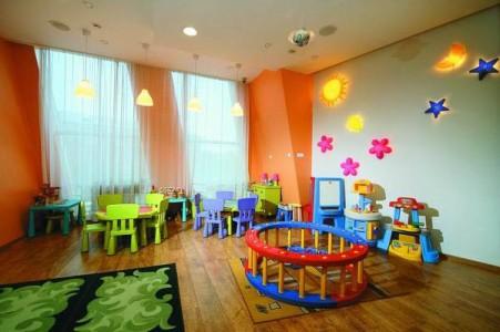 Игровая комната для маленьких