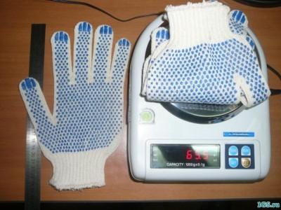 Производство хб перчаток