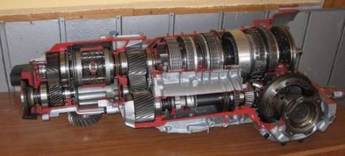Макет автомобильной коробки передач