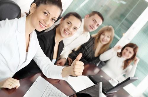 Сотрудники бухгалтерской фирмы