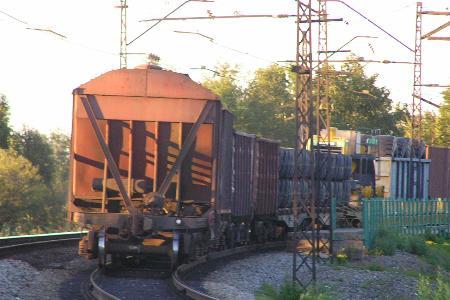Грузовые перевозки по железной дороге