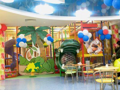 Интерьер детского кафе