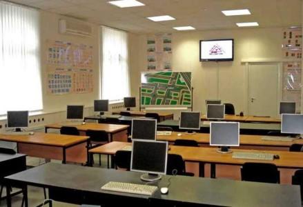 Учебная комната для будущих водителей