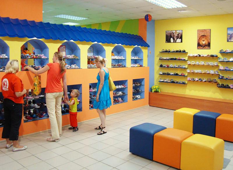 Магазин детской обуви как бизнес