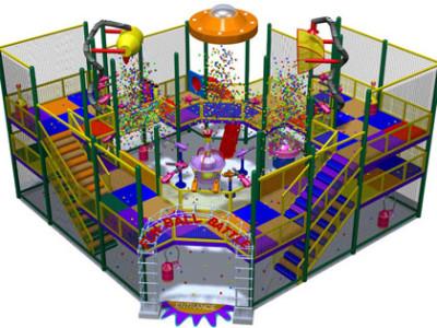 Модель развлекательного центра