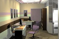 Интерьер офиса охранного предприятия