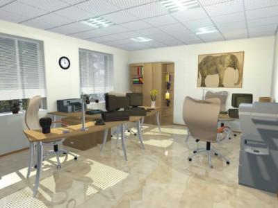 Расположение офисного помещения