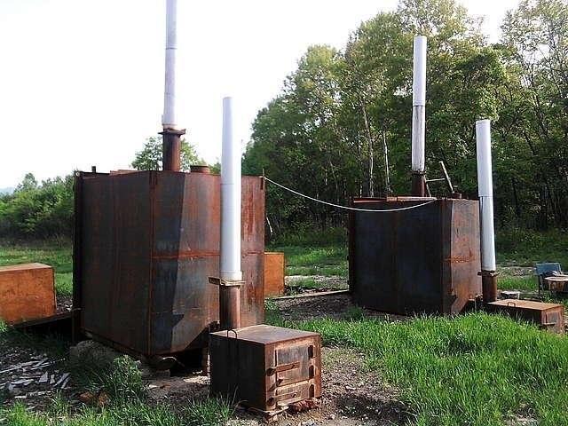 Недорогие углевыжигательные печи для производства древесного угля