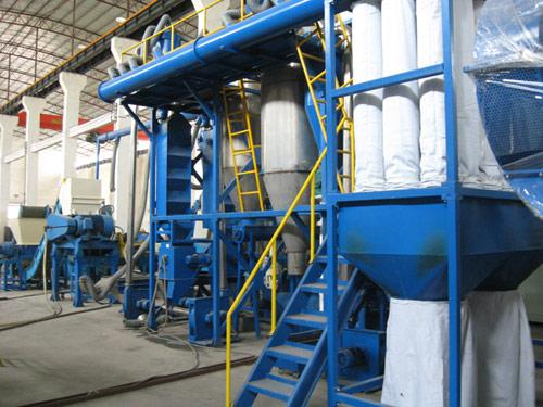 Оборудование для утилизации и переработке автомобильных шин