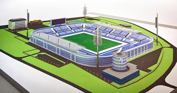 План футбольного поля