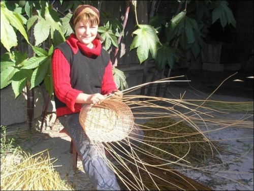 Плетение из ивы