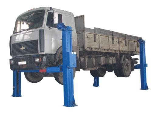 Подъемник для грузовых автомобилей