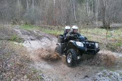Поездки на квадроциклах по грязи