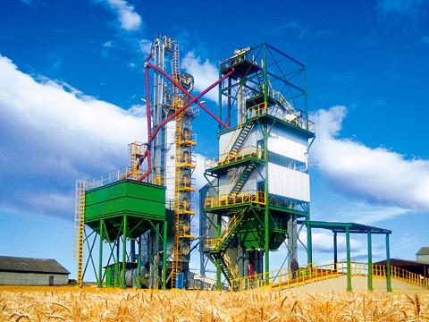 Послеуборочная обработка зерна