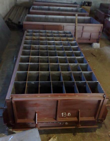 Форма для производства пеноблоков