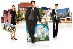 Сотрудники агентства недвижимости