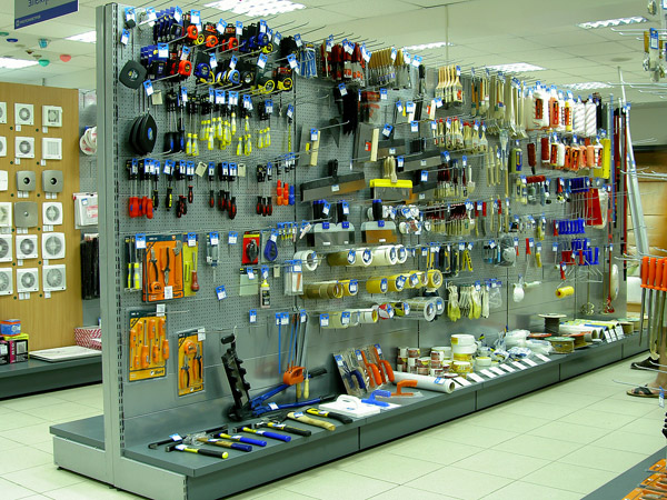 Магазин по продаже инструментов.