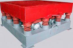 Для изготовления строительных элементов из бетона применяются вибростолы