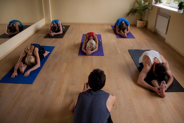 Занятия в йога-центре