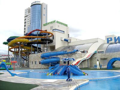 Пермский аквапарк