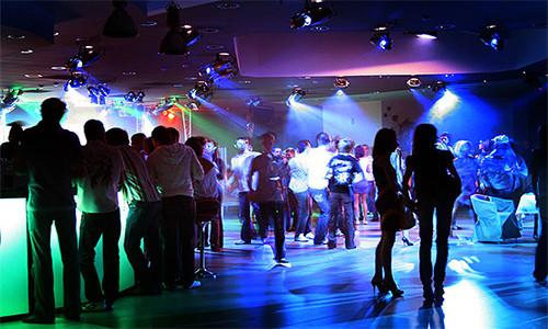 Дизайн помещения диско-бара