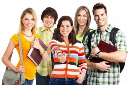 Ученики курсов по иностранному языку
