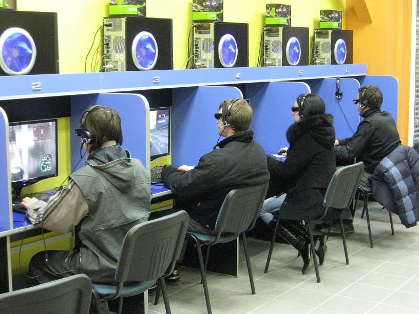Игровой компьютерный клуб.