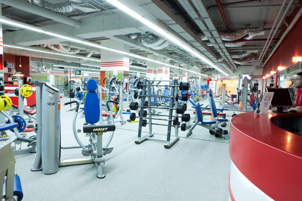 Открытие фитнес-клуба