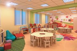 Интерьер детского клуба