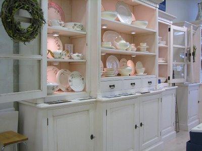Витрина магазина посуды