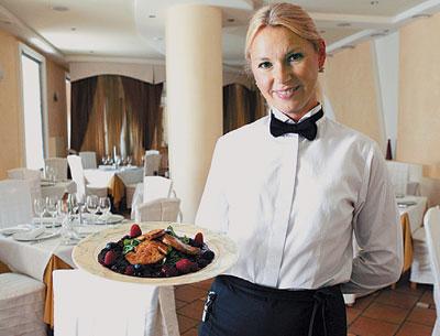 Подбор официантов