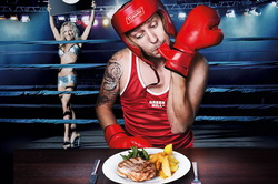 Реклама спорт бара