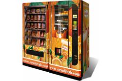 Вендинговый автомат с соками