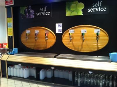 Оборудование для магазина разливного вина