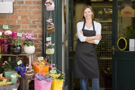 Открытие цветочного магазина
