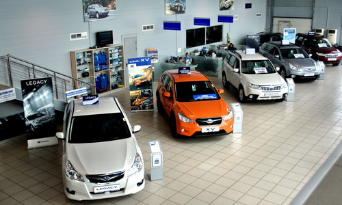 Автомобильный салон