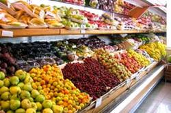 Отдел фруктов и овощей