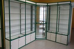 Стеклянные витрины для канцтоваров