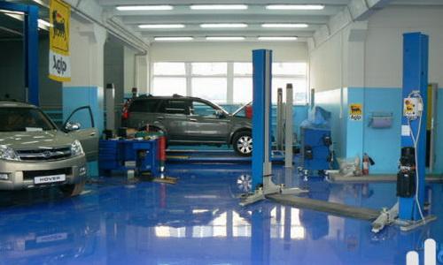 Техническое помещение для тюнинга авто
