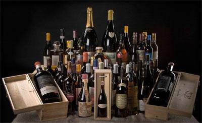 Ассортимент вин