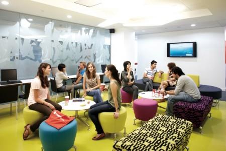 Оформление помещения и формы проведения занятий зависит успешность курсов