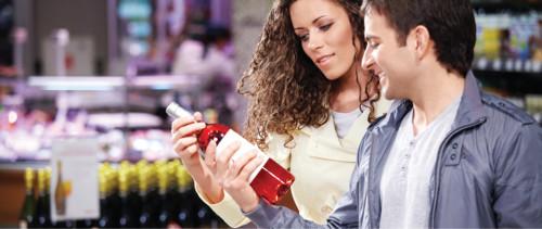 Продавец в винном магазине